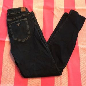 Guess Power Skinny Low Rose Jeans